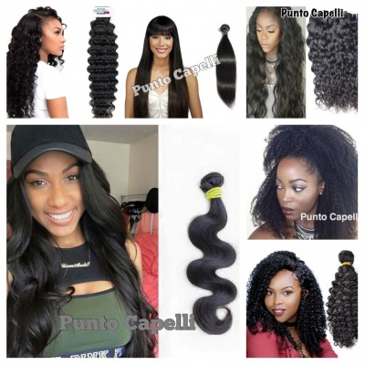 100gr. Brazilian Hair  Bundles Human Hair Weft Natural Black Color Remy Hair Extensions Star Collection
